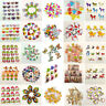 Wholesale 100pcs 2 Holes Wooden Sewing Heart Shape Button Craft Scrapbooking DIY