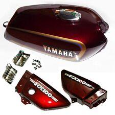 Yamaha RX100 RX125 Petrol Gas Fuel Tank & Cap With Side Panel GEc