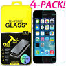 (4-Pack) Premium Tempered GLASS Screen Protector For iPhone X / XS / XR / XS Max