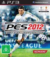 Pro Evolution Soccer 2012 PlayStation 3 Game USED