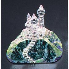 Crystal World Small Fantasy Castle Figurine New In Box