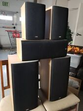 B & W speakers 5.1 system: Main DM602 S3, Rear DM600 S3, and Center LCR60 S3