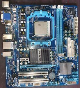 Gigabyte GA-MA74GMT-S2 Rev 1.4 AM3 Motherboard With AMD Athlon II ADX2600CK23GM