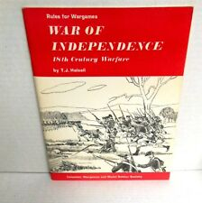 WAR GAME RULES War of Independence 18th C Warfare UK Leicester Wargames 1976
