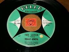 TOMMY GENOVA & THE PRECISIONS - THE LOVER - WHAT HAS   / LISTEN / TEEN POPCORN