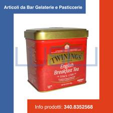 GR 100 TE' NERO ENGLISH BREAKFAST TWININGS SFUSO IN LATTINA BLACK ENGLISH TEA