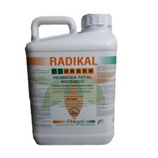 Herbicide Désherbant Total Glyphosate 5L Tous jardins concentrés  24h