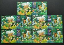 1994 Australia Zoos Animals MS + Overprint Stamp Exhibition MS (Lot of 5 sheets)