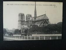 CPA 75 PARIS - L'Eglise de Notre Dame et l'Abside Style Ogival