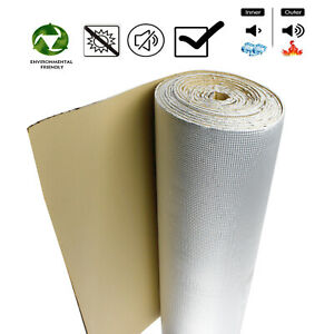 64Sqft Sound Deadening Automotive Auto Heat Shield Boot Body Panels Insulation