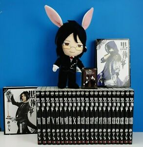 Kuroshitsuji Black Butler 1 to 24 Book Manga Comic Yana Toboso Japanese Language