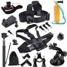 Head Chest Strap Bracelet Monopod Mount Adapter for GoPro 7 SJ4000 Xiaomi Yi 4K+
