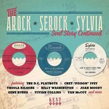 "THE AROCK - SEROCK - SYLVIA SOUL STORY CONTINUED  ""25 TRACKS RECORDED 1962-1966"""