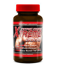 90ct Nitric Oxide Xtreme 2000 Extreme L-Arginine Strength Endurance Build Muscle