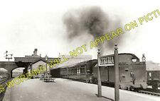 Etruria Railway Station Photo. Stoke on Trent to Hanley and Shelton Lines. (2)