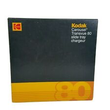 Kodak Transvue Carousel 80 Slide Tray Chargeur With Box Excellent Condition