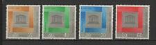 Royaume du Laos 4 timbres non oblitérés 1966 UNESCO /T2734