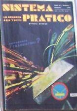 SISTEMA PRATICO n° 1 (1961) Rivista - Scienza per Tutti