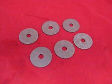 GRASSHOPPER MOWER PART 421200 FIBER BLADE WASHER *SET OF 6*