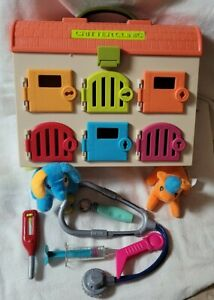 B. Critter Clinic Toy Vet Play Set with accessories and plush 2 animals. *2