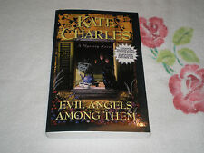 EVIL ANGELS AMONG THEM by KATE CHARLES   *SIGNED*  -ARC-  JA