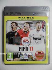 jeu FIFA 11 Platinum sur ps3 playstation 3 sony francais 2011 foot soccer sport