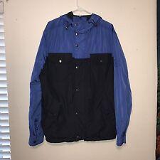 Tommy Hilfiger Blue/Black Windbreaker Jacket Size XXL