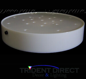 "12x Centerpiece LED Wedding Lights Floral Vase Decoration Table Luminara 7"""