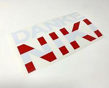 Niki Lauda F1 Sticker Danke Niki Ferrari Formula 1 Stickers Decal Mercedes F1