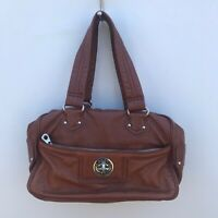 Marc by Marc Jacobs Brown Satchel Leather Handbag