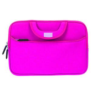 """Neoprene Sleeve Case Cover Pocket Bag Handle for Dell 11.6"""" 13"""" 13.3"""" Laptop"""