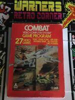 Atari 2600 Combat Cib Retro Game  Boxed W/ Manual