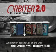 ORBITER 2.0 PLAYING CARD DISPLAY WITH 4 ACRYLIC CASES COLLECTOR MAGIC TRICKS