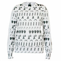 BERNHARD WILLHELM $410 king kong dolphin sweater shirt jumper sweater XS NEW
