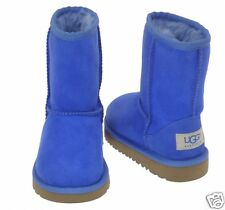 Ugg Australia Size 6 Little Kids Toddler Deep Blue Classic Short Boot