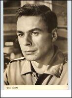 DDR Starfoto Kino Fernsehen Film Schauspieler Actor 1965 CLAUS JURICHS Echtfoto
