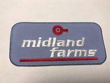 Midland Farms Milk Processing Dairy Company NY NJ Farm Farming Logo Patch I