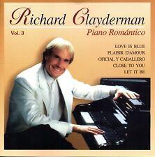 Richard Clayderman - Piano Romantico Vol.3 - CDs 1998