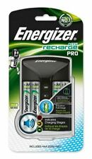 More details for energizer pro aa aaa battery charger + 4x aa 2000mah nimh rechargeable batteries