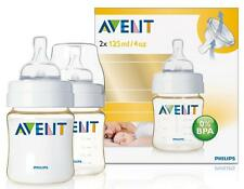 Avent 4oz/125ml Extra Durable Feeding Baby Bottle (TWIN Pack) SCF660/27