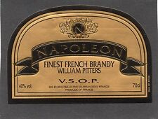 COGNAC VIEILLE ETIQUETTE FINEST FRENCH BRANDY NAPOLEON WILLIAM PITTERS§05/02/17§