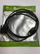 Rankie DisplayPort (DP) to DVI Cable Gold Plated
