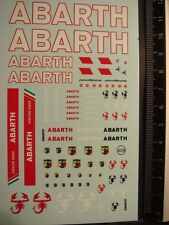 DECALS 1/43 ABARTH DECO CAMION ET DIVERS  - T409