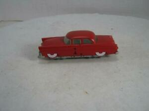HO Lionel Automobile Race car Motorized Track Vehicle #1 Red