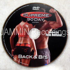 Supreme 90 Day Workout - Back & Bi's (Biceps) - New Dvd - Shot In Hd