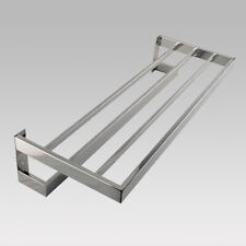 Chrome Double Towel Holder 600mm