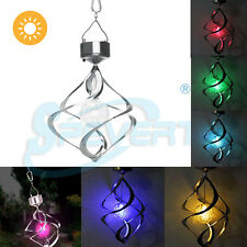 Solar Power LED Wind Chimes Light Outdoor Garden Yard Balcony Deco Hanging Lamp
