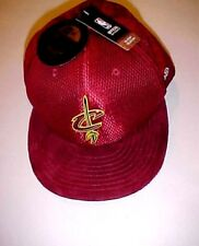 Cleveland Cavaliers NBA East Wine Team Logo Adult Unisex Cap Size 8 New NWT