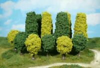 Heki 1030 Alleebäume 4 Stück grün 6 - 7 cm Fabrikneu