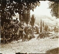 Auvergne Paesaggio Francia Foto Stereo PL58L12n1 Placca Da Lente c1920